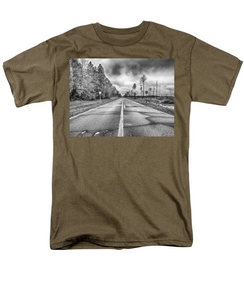 The Road Less Traveled Men's T-Shirt  (Regular Fit) by Howard Salmon