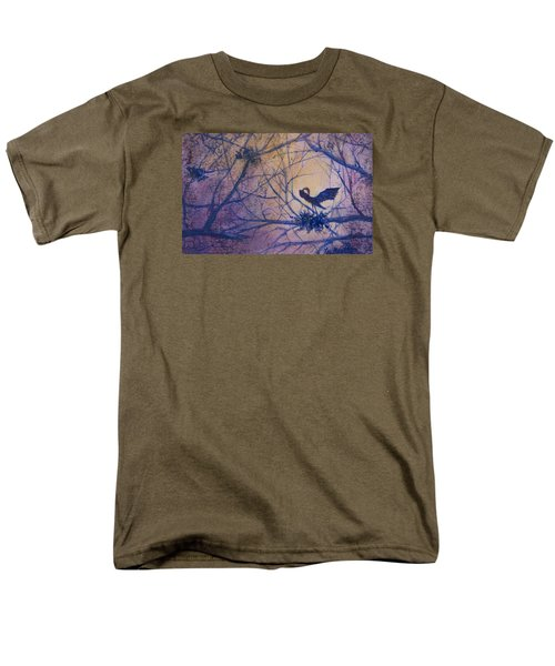 The Rookery Revisited Men's T-Shirt  (Regular Fit) by Lee Beuther