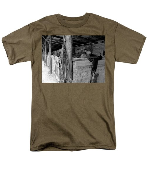 Men's T-Shirt  (Regular Fit) featuring the photograph Very Stable by Natalie Ortiz