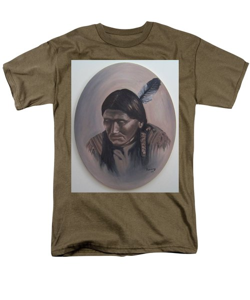 Men's T-Shirt  (Regular Fit) featuring the painting The Story Teller by Michael  TMAD Finney