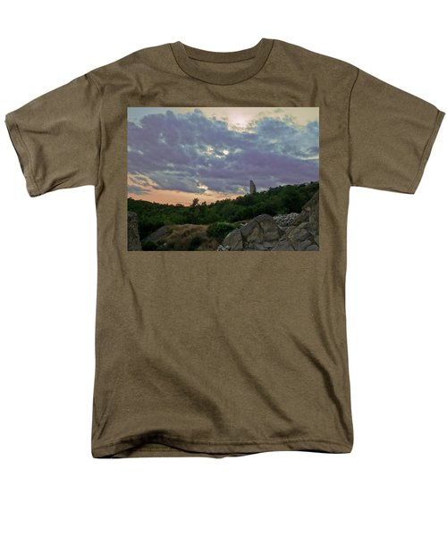 Men's T-Shirt  (Regular Fit) featuring the photograph The Tower by Eti Reid