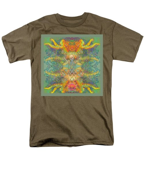 The Tree Of The Knowledge Of Good And Evil Men's T-Shirt  (Regular Fit) by Hidden  Mountain