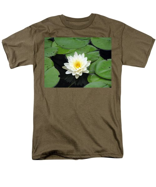 Men's T-Shirt  (Regular Fit) featuring the photograph The Water Lilies Collection - 01 by Pamela Critchlow