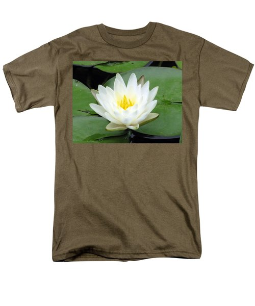 Men's T-Shirt  (Regular Fit) featuring the photograph The Water Lilies Collection - 04 by Pamela Critchlow