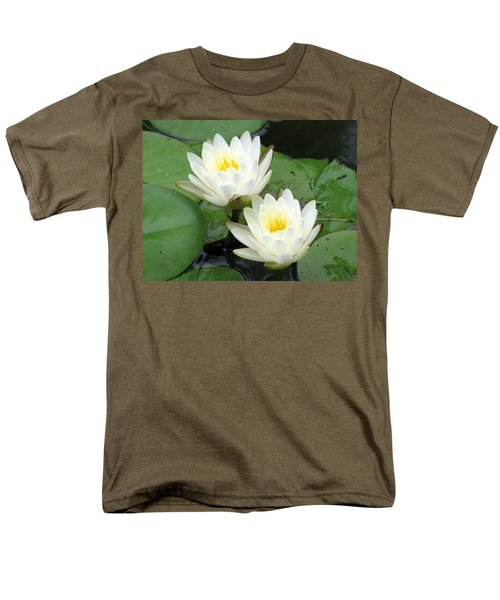 Men's T-Shirt  (Regular Fit) featuring the photograph The Water Lilies Collection - 08 by Pamela Critchlow