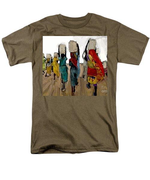 The Water Workers Men's T-Shirt  (Regular Fit) by Vannetta Ferguson