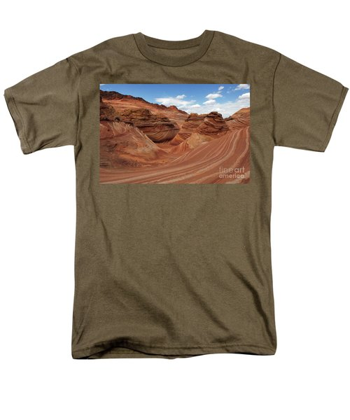 The Wave Center Of The Universe Men's T-Shirt  (Regular Fit) by Bob Christopher