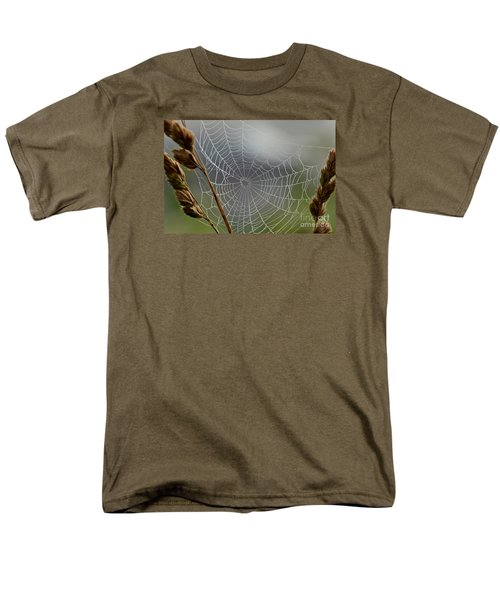 Men's T-Shirt  (Regular Fit) featuring the photograph The Web by Kerri Farley