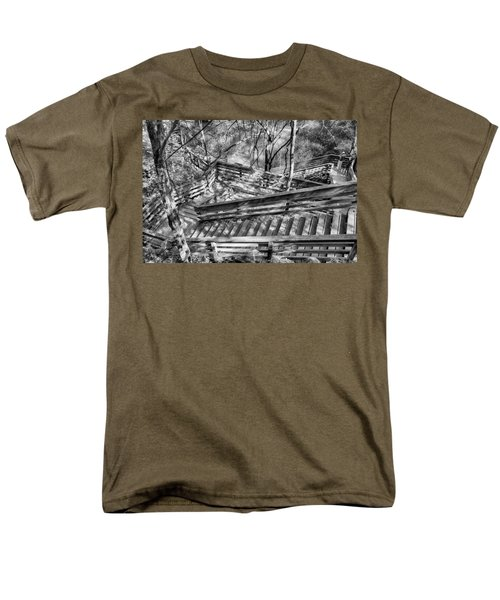 The Winding Stairs Men's T-Shirt  (Regular Fit) by Howard Salmon