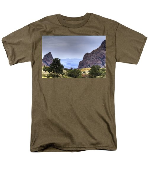 The Window View Men's T-Shirt  (Regular Fit) by Dave Files