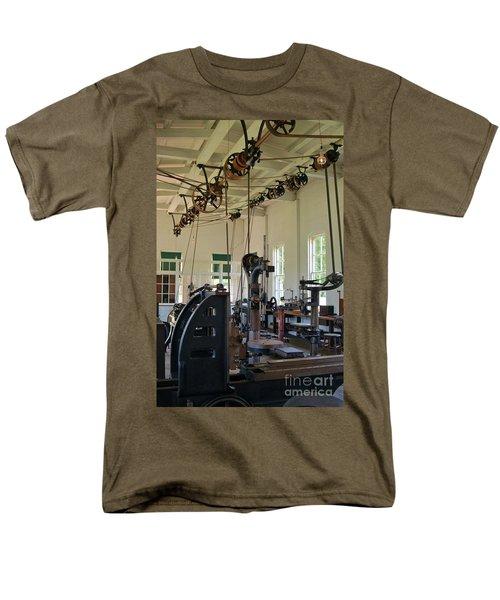 Men's T-Shirt  (Regular Fit) featuring the photograph The Work Shop by Patrick Shupert