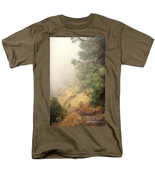 Men's T-Shirt  (Regular Fit) featuring the photograph There And Back Again 2 by Ellen Cotton