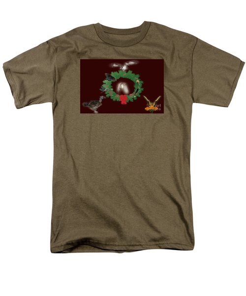Men's T-Shirt  (Regular Fit) featuring the photograph These Are A Few Of My Favorite Things 2 by Donna Brown