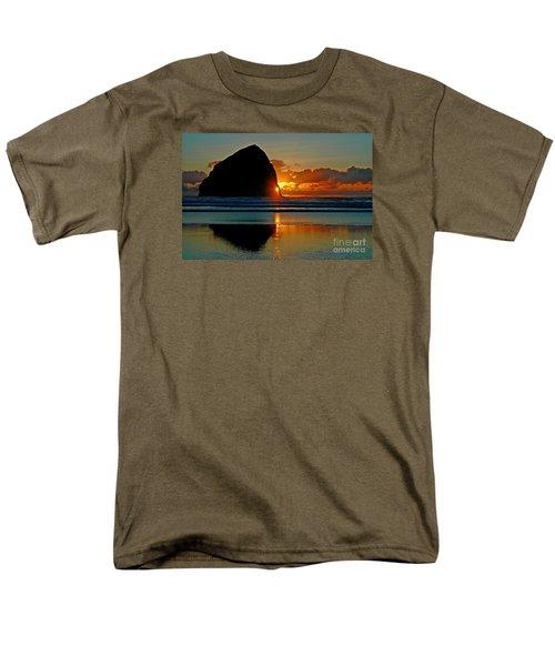 Threading The Needle Men's T-Shirt  (Regular Fit) by Nick  Boren