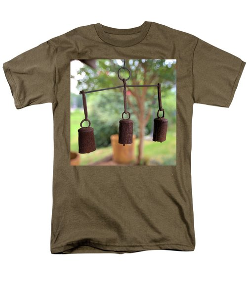 Three Bells - Square Men's T-Shirt  (Regular Fit) by Gordon Elwell