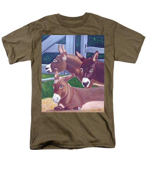 Three Donkeys Men's T-Shirt  (Regular Fit)