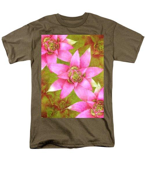 Three Pink Ladies Men's T-Shirt  (Regular Fit) by Claudia Ellis