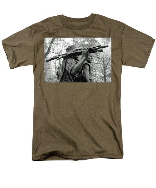 Three Soldiers In Vietnam Men's T-Shirt  (Regular Fit) by Cora Wandel
