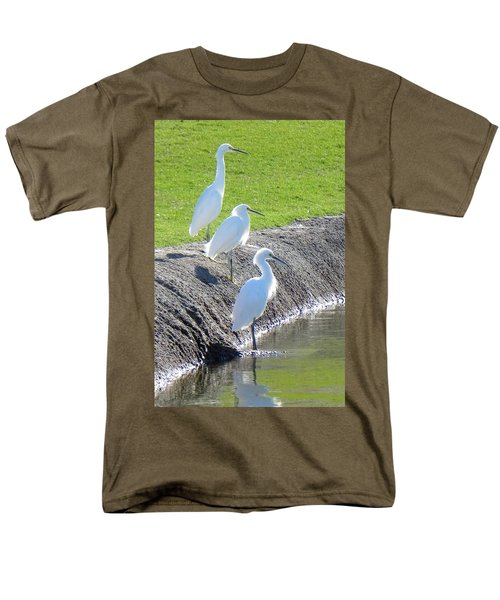 Men's T-Shirt  (Regular Fit) featuring the photograph Three Stooges by Deb Halloran