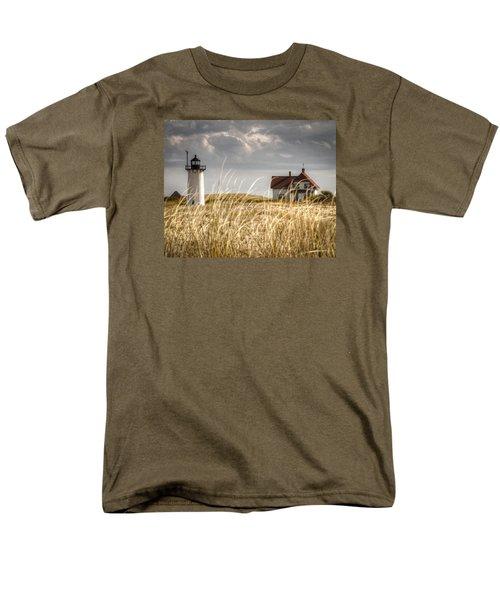 Race Point Light Through The Grass Men's T-Shirt  (Regular Fit) by Brian Caldwell