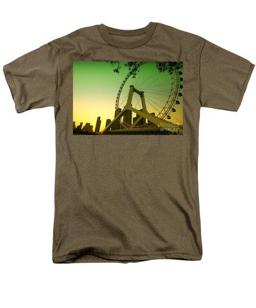 Tianjin Eye  Men's T-Shirt  (Regular Fit) by Yew Kwang