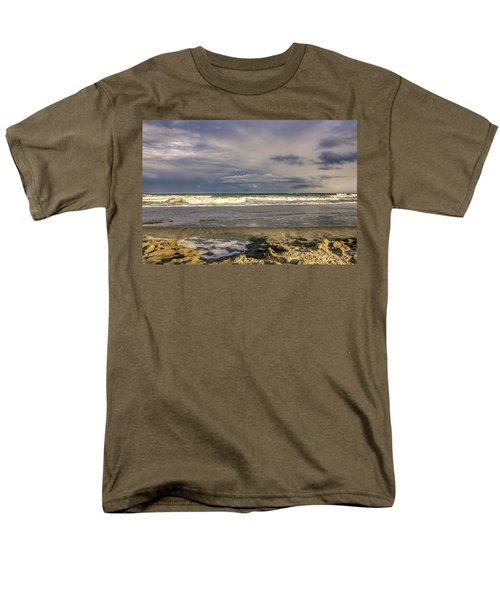 Tidal Pool Men's T-Shirt  (Regular Fit) by Rob Sellers