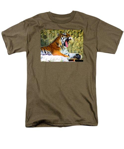 Tiger Men's T-Shirt  (Regular Fit) by Oleg Zavarzin