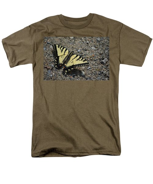 Men's T-Shirt  (Regular Fit) featuring the photograph Tiger Swallowtail by James Petersen