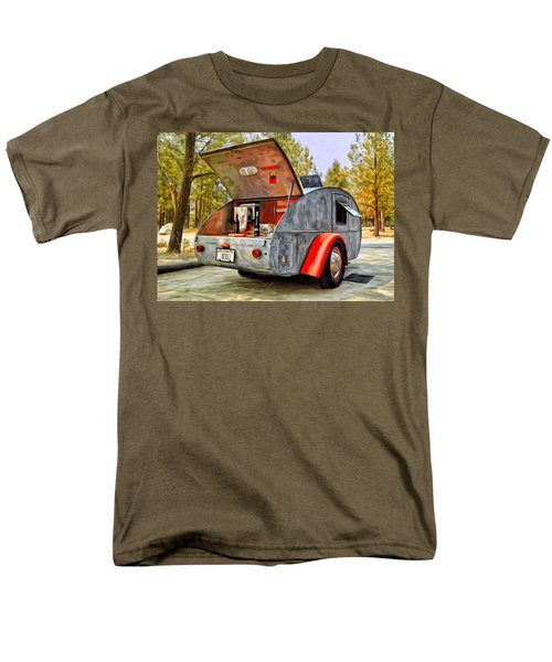 Time For Camping Men's T-Shirt  (Regular Fit) by Michael Pickett