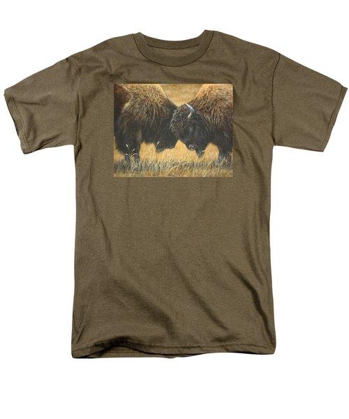 Titans Of The Plains Men's T-Shirt  (Regular Fit) by Kim Lockman