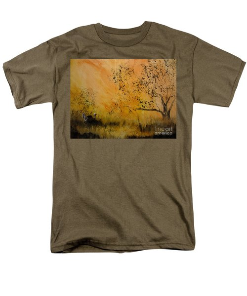 Men's T-Shirt  (Regular Fit) featuring the painting Tom by Laurianna Taylor