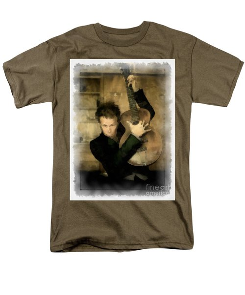Tom Waits Men's T-Shirt  (Regular Fit) by Paulette B Wright