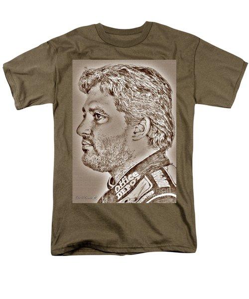 Tony Stewart In 2011 Men's T-Shirt  (Regular Fit) by J McCombie