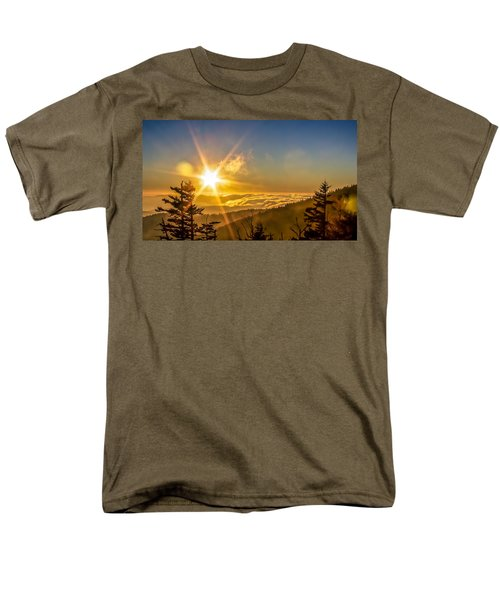 Top Of The World Men's T-Shirt  (Regular Fit) by Rob Sellers