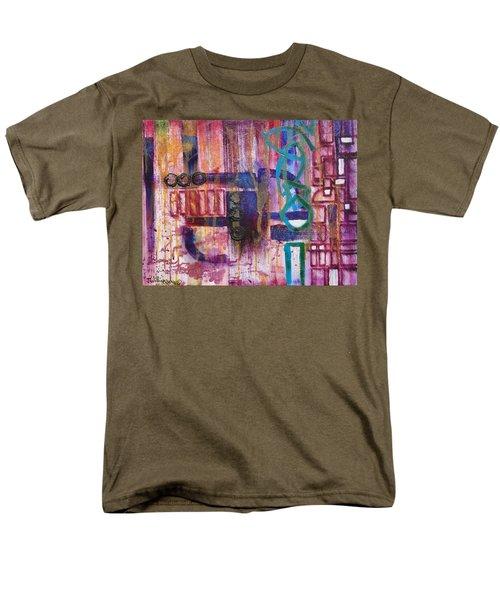 Tortured Links Men's T-Shirt  (Regular Fit) by Jason Williamson