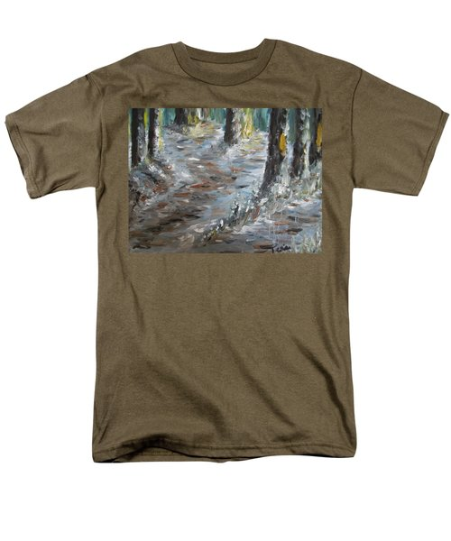 Men's T-Shirt  (Regular Fit) featuring the painting Touch Of Christmas by Teresa White