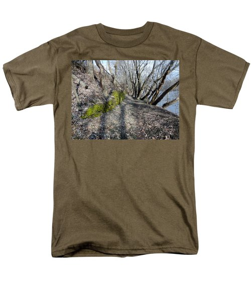 Touch Of Green Men's T-Shirt  (Regular Fit) by Michael Porchik