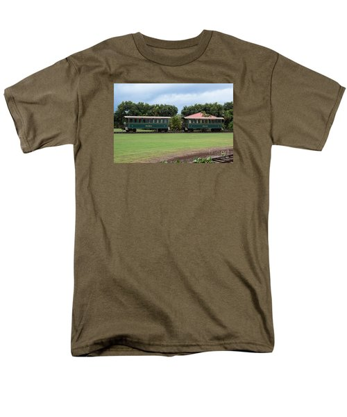 Train Lovers Men's T-Shirt  (Regular Fit) by Suzanne Luft