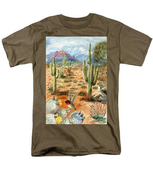 Treasures Of The Desert Men's T-Shirt  (Regular Fit) by Marilyn Smith