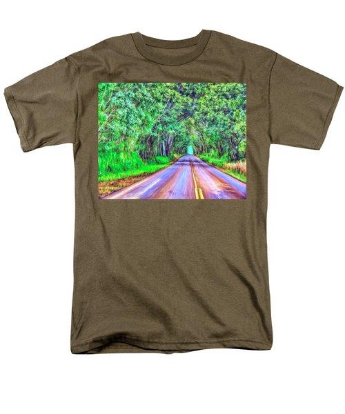 Tree Tunnel Kauai Men's T-Shirt  (Regular Fit) by Dominic Piperata