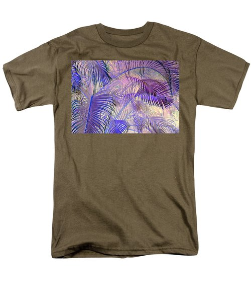 Tropical Embrace Men's T-Shirt  (Regular Fit) by Roselynne Broussard