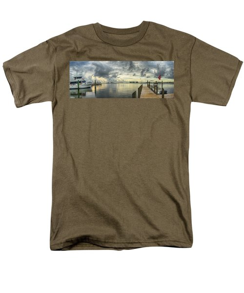 Men's T-Shirt  (Regular Fit) featuring the digital art Tropical Winds In Orange Beach by Michael Thomas