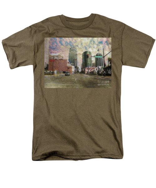 Truman Road Kansas City Missouri Men's T-Shirt  (Regular Fit) by Liane Wright