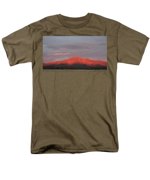 Men's T-Shirt  (Regular Fit) featuring the photograph Tucson Mountains by David S Reynolds
