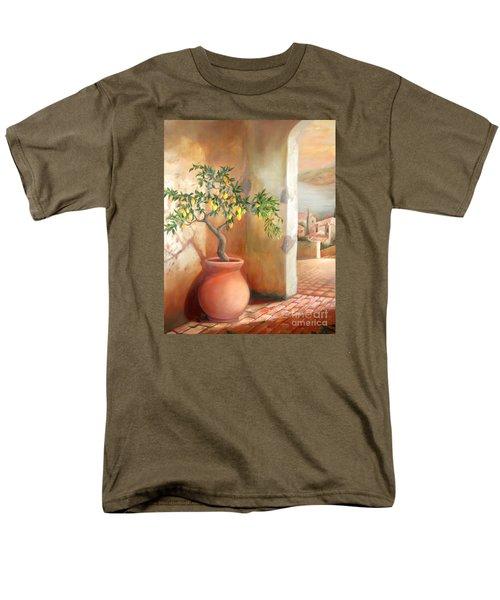 Tuscan Lemon Tree Men's T-Shirt  (Regular Fit)
