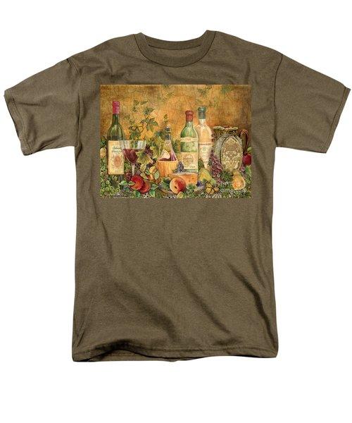 Tuscan Wine Treasures Men's T-Shirt  (Regular Fit) by Jean Plout