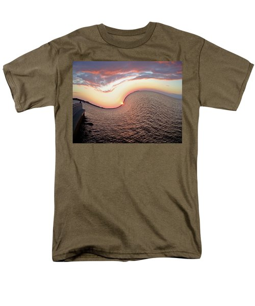 Men's T-Shirt  (Regular Fit) featuring the photograph Twisted Sunset by Aimee L Maher Photography and Art Visit ALMGallerydotcom