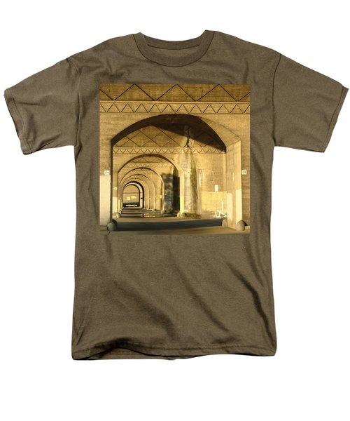 Under The Bridge Men's T-Shirt  (Regular Fit) by Joseph Skompski