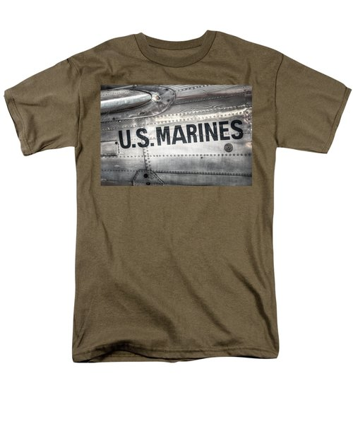 United States Marines - Beech C-45h Expeditor Men's T-Shirt  (Regular Fit) by Gary Heller