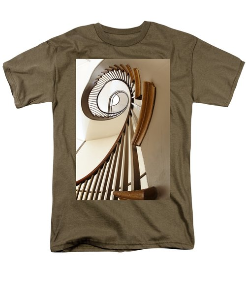 Up Stairs Men's T-Shirt  (Regular Fit) by Alexey Stiop